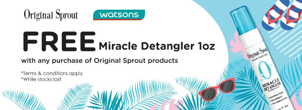 Free Miracle Detangler 1oz (002)