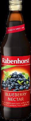Rabenhorst Organic Wild Blueberry Nectar bottle